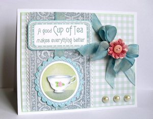 a good cup of tea card