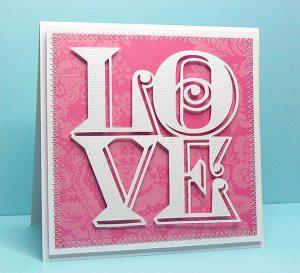 love cube card