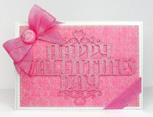 valentine not so bendy card