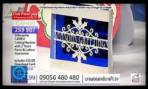 bendy card on tv again