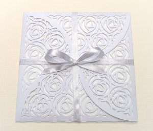 envelope 5 with ribbon