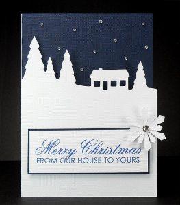 Snow Scene Card 4