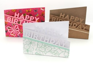 Happy Birthday Edge Cards