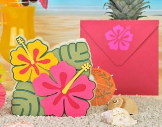 Hibiscus-Card