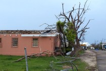 Damaged building on Barbuda - the entire population has been evacuated. (Photo by Anthony Levesque) (1)