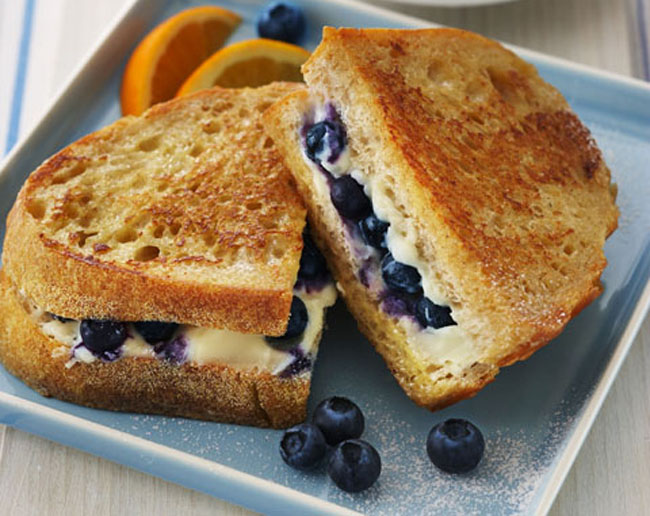 Blueberry Stuffed French Toast Birds Of A Feather Bb