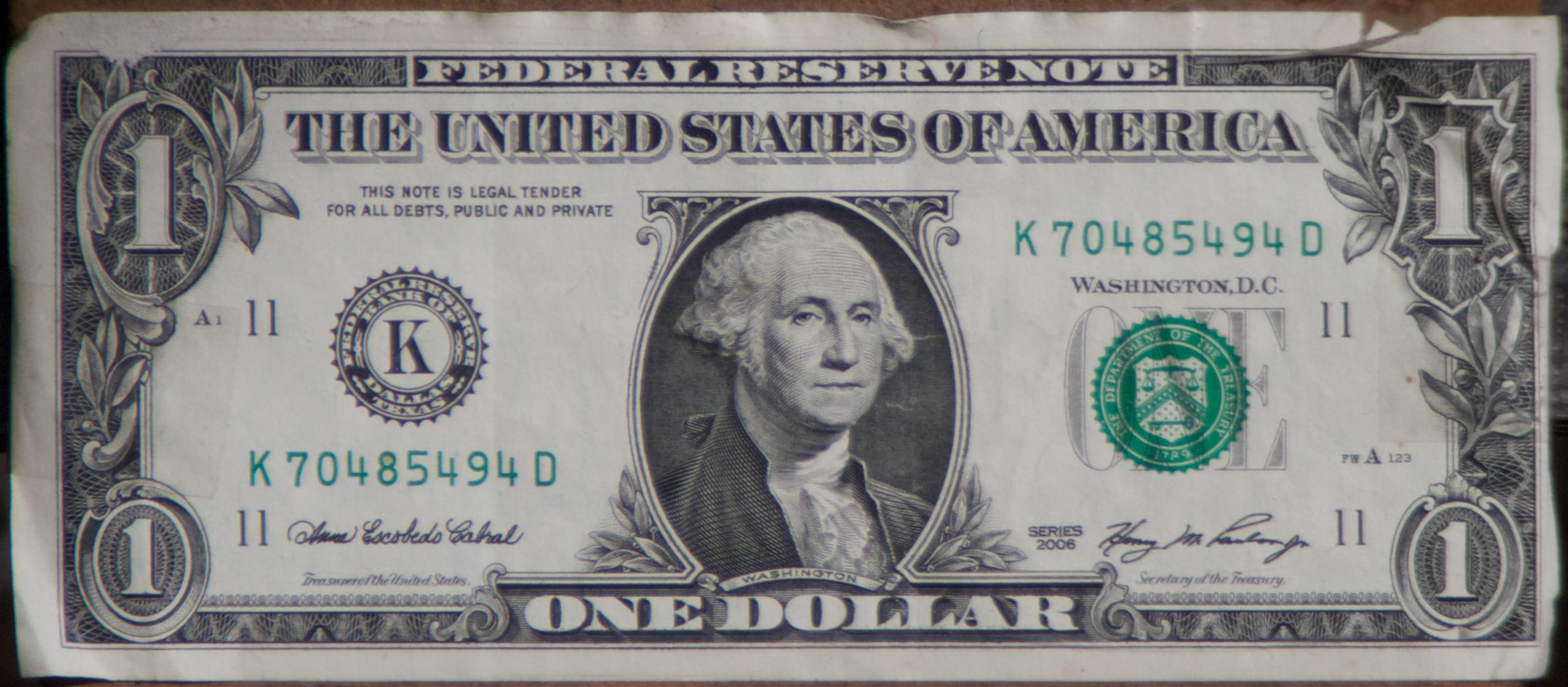 dollar bill high resolution