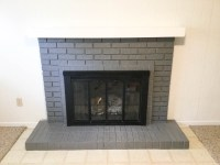 Paint Your Brick Fireplace in 2 Easy Steps!   Birkley Lane ...