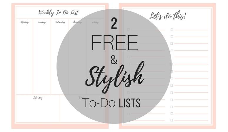 FREE Stylish To Do List (Plus a BONUS!) Birkley Lane Interiors