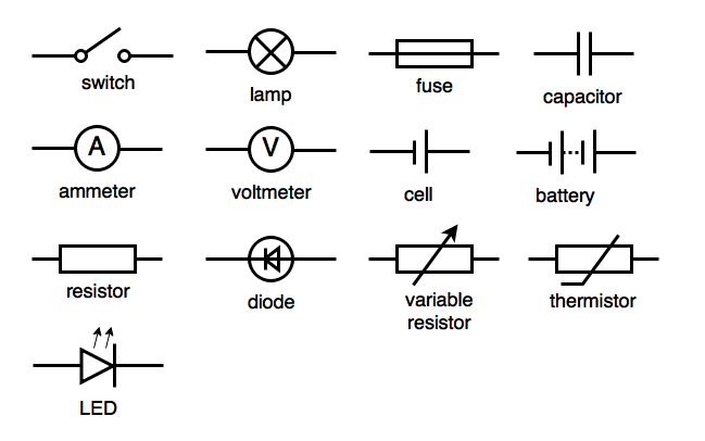 montage of circuit components