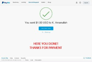 How to pay via paypal