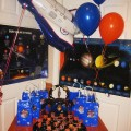 space birthday decorations