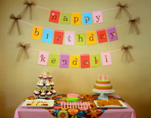 Kids Birthday Banner