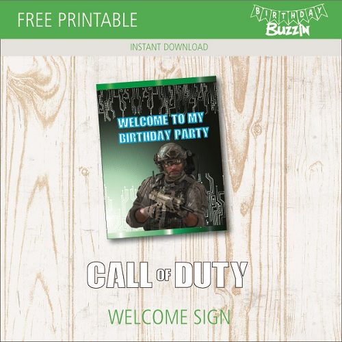 birthday sign template free