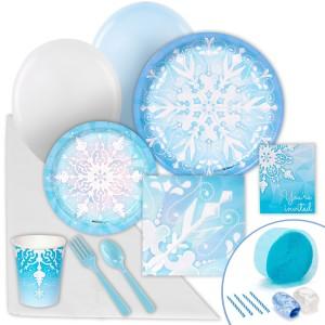 Snowflake Winter Wonderland Value Party Pack