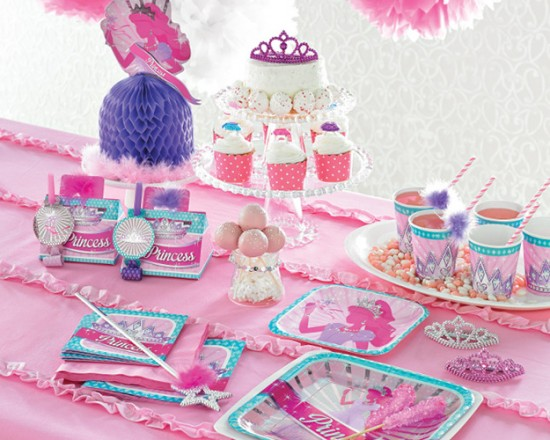princess-party-themed-decorations-Princess Birthday Party Ideas