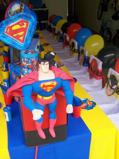 Supergirl Superman Birthday Party Ideas