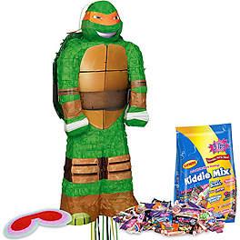 Ninja Turtle Birthday Party Ideas pinata