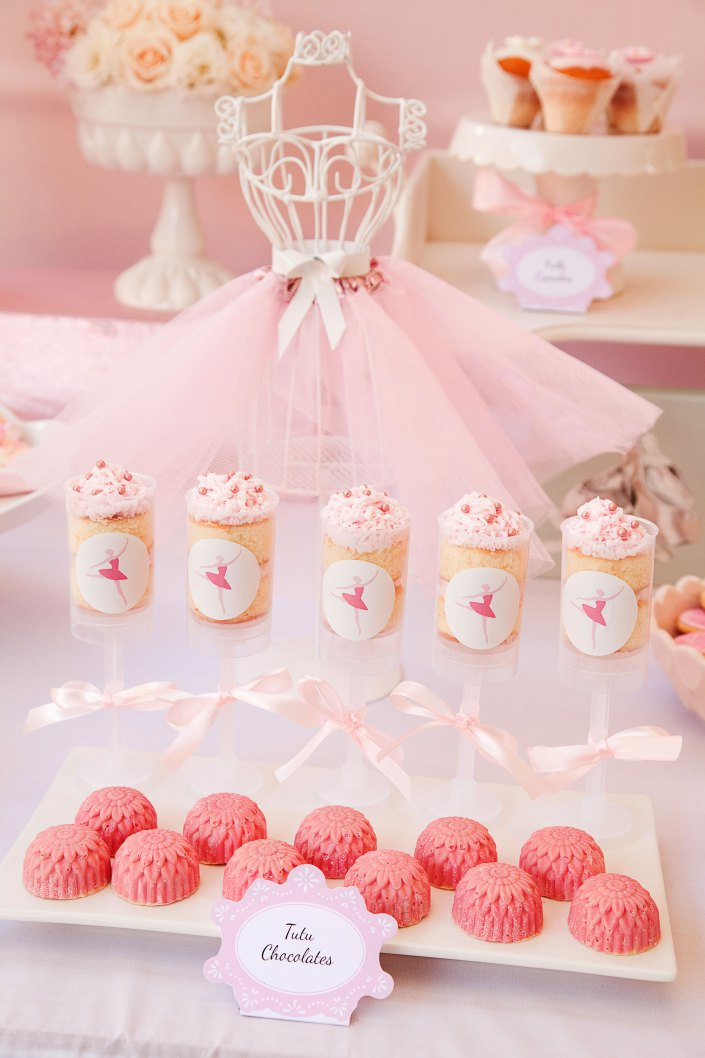 Pretty pink ballerina birthday party birthday party for Ballerina party decoration