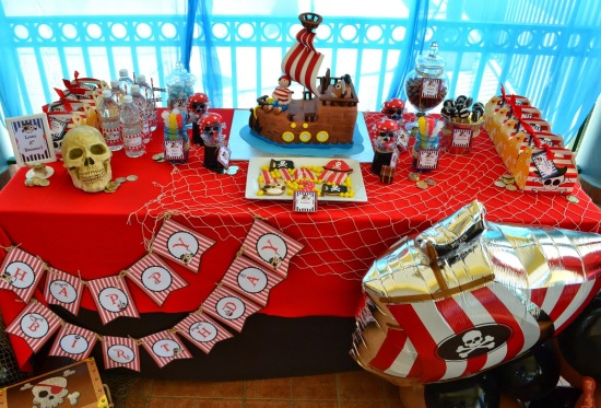 Ahoy Pirate Birthday Party Ideas