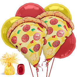 pizza party balloons