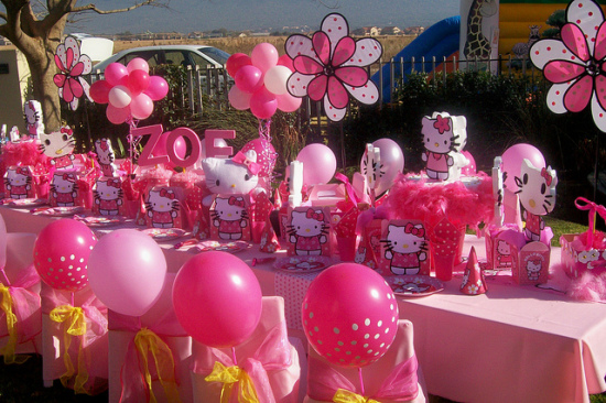 hello kitty pink party