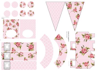 Shabby Chic Rose Printable