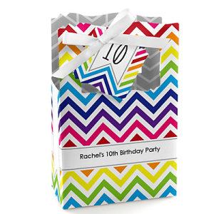 Chevron-Rainbow-Birthday-Party-Favor-Boxes