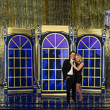 Great Gatsby Party Supplies ballroom