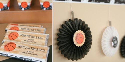 Nothin' But Net - Basketball - Birthday Party Theme