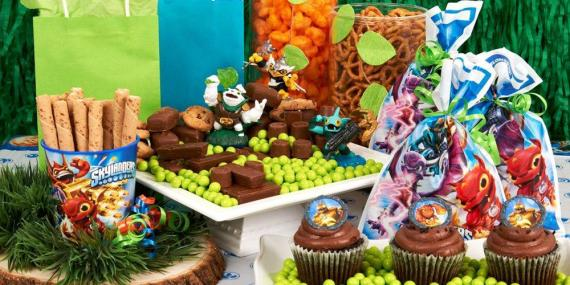 skylander party supplies