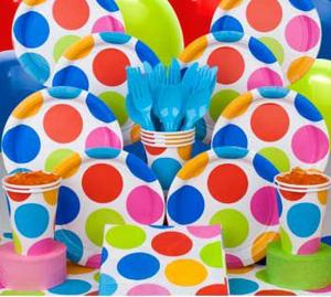 tableware_rainbow_polka_dot