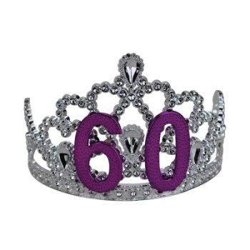 60th Birthday Silver Tiara