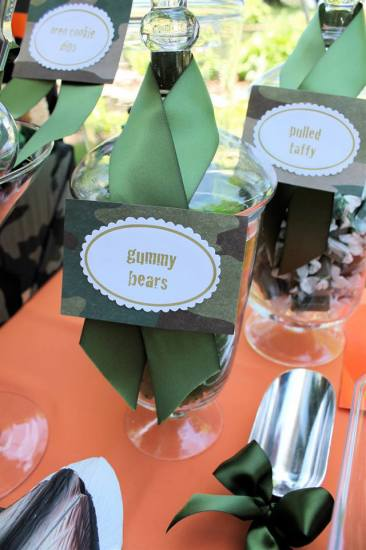 Hunting theme birthday party ideas themes