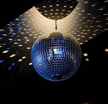 Revolving Disco Mirror Ball