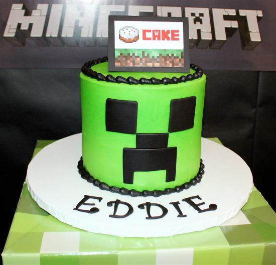 Minecraft Creeper Birthday Party - Birthday Party Ideas ...