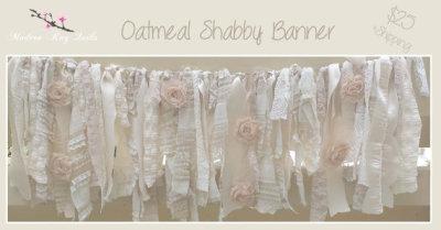 Oatmeal Shabby Banner
