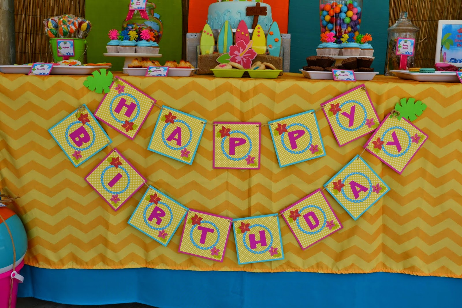 Teen Beach Movie Birthday Party - Birthday Party Ideas ...