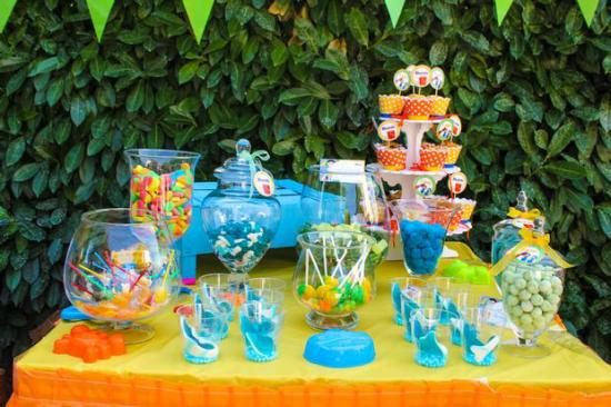 Kids Birthday Party Centerpiece Ideas