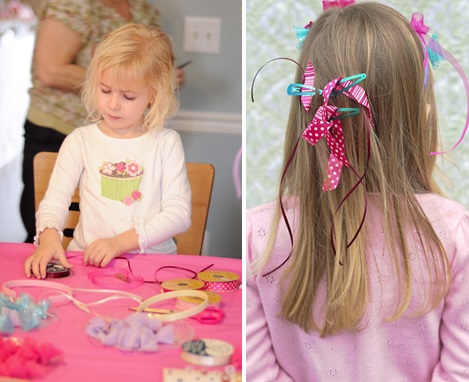 Vintage Inspired Tea Party activity for kids