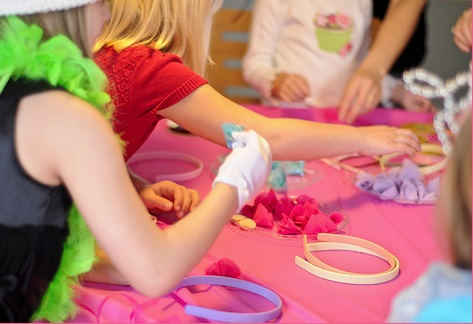 Vintage Inspired Tea Party activity