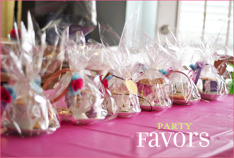 Vintage Inspired Tea Party favors