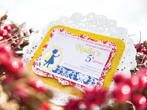 Charming Snow White Party Birthday Party Ideas Themes – Snow White Party Invitations