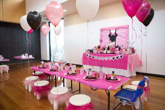 Minnie Mouse Birthday Party Birthday Party Ideas & Themes