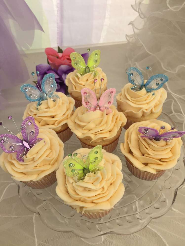 Baby Shower Butterfly Decorations