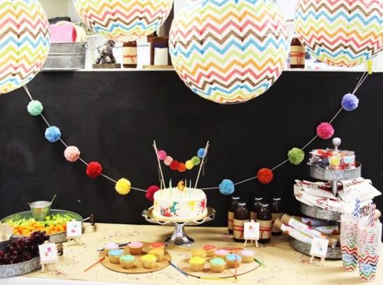 whimsical-modern-art-party-ideas