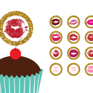 Free Kisses Toppers