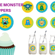 Free Monster Toppers