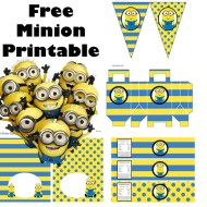 Free Minion Party Pack