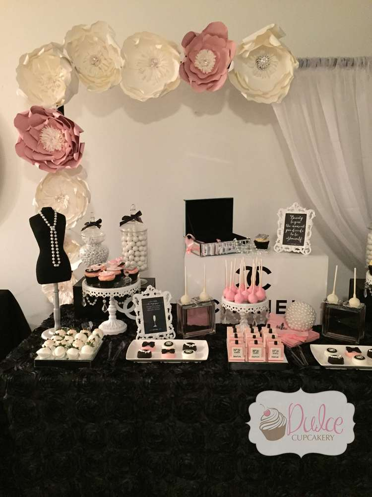 Chanel Inspired Birthday Party Ideas amp Themes